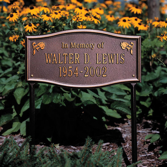 Best ideas about Outdoor Memorial Plaques . Save or Pin Custom Outdoor Memorial Plaques Now.