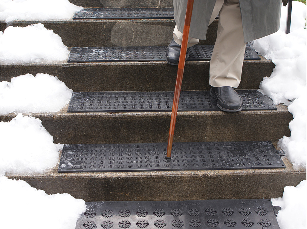 Best ideas about Outdoor Non-Slip Stair Treads For Snow . Save or Pin Heated Entrance Mats & Heated Stair Treads Now.
