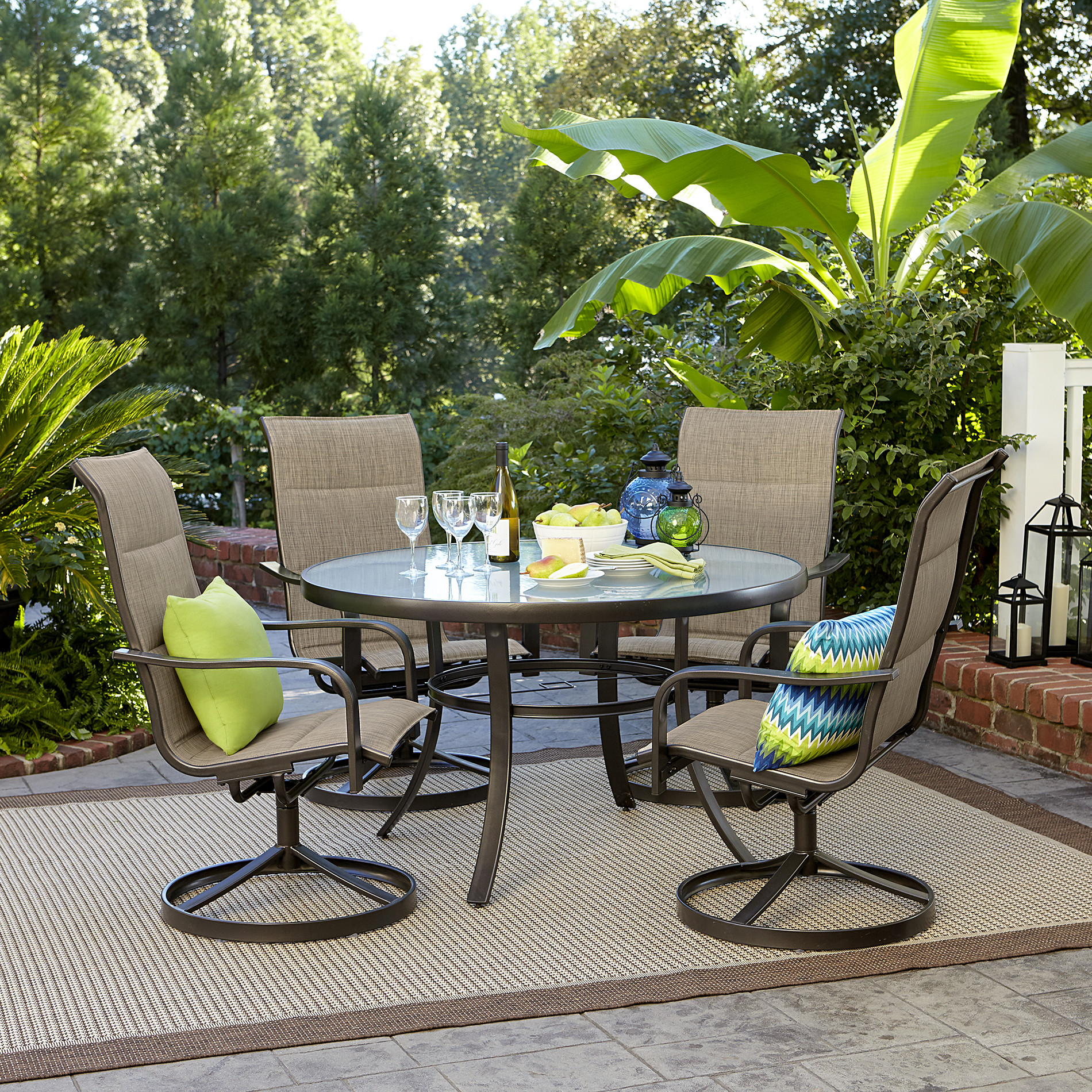 Best ideas about Outdoor Patio Dining Sets . Save or Pin Garden Oasis Miranda 5 Piece Dining Set Now.