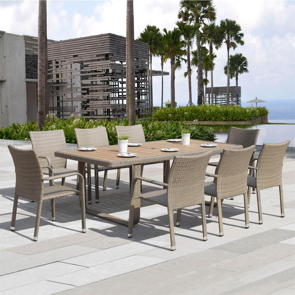 Best ideas about Outdoor Patio Dining Sets . Save or Pin Starsong DS010 Ashena 9 Piece Outdoor Dining Set Now.