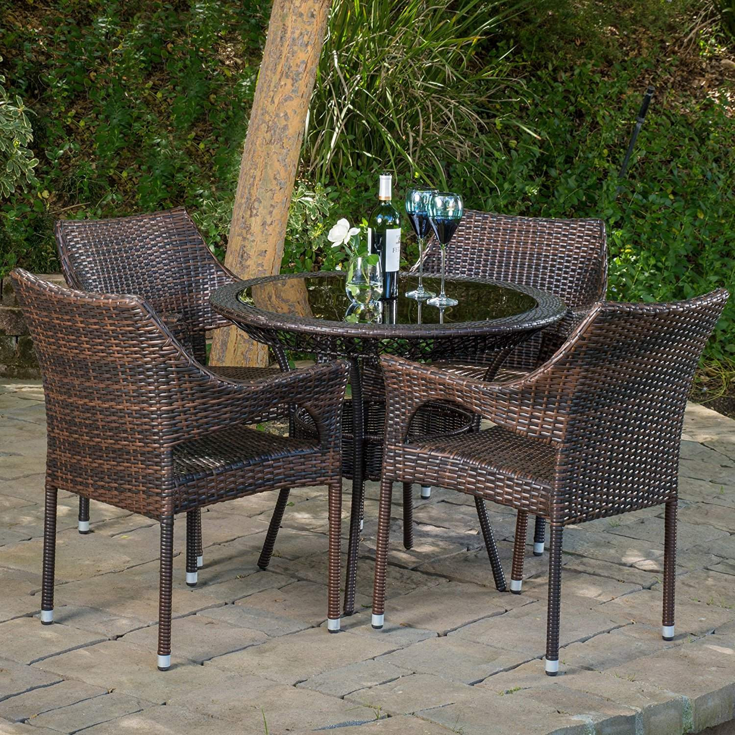 Best ideas about Outdoor Patio Dining Sets . Save or Pin Top 10 Best Garden Furniture Sets 2018 Now.