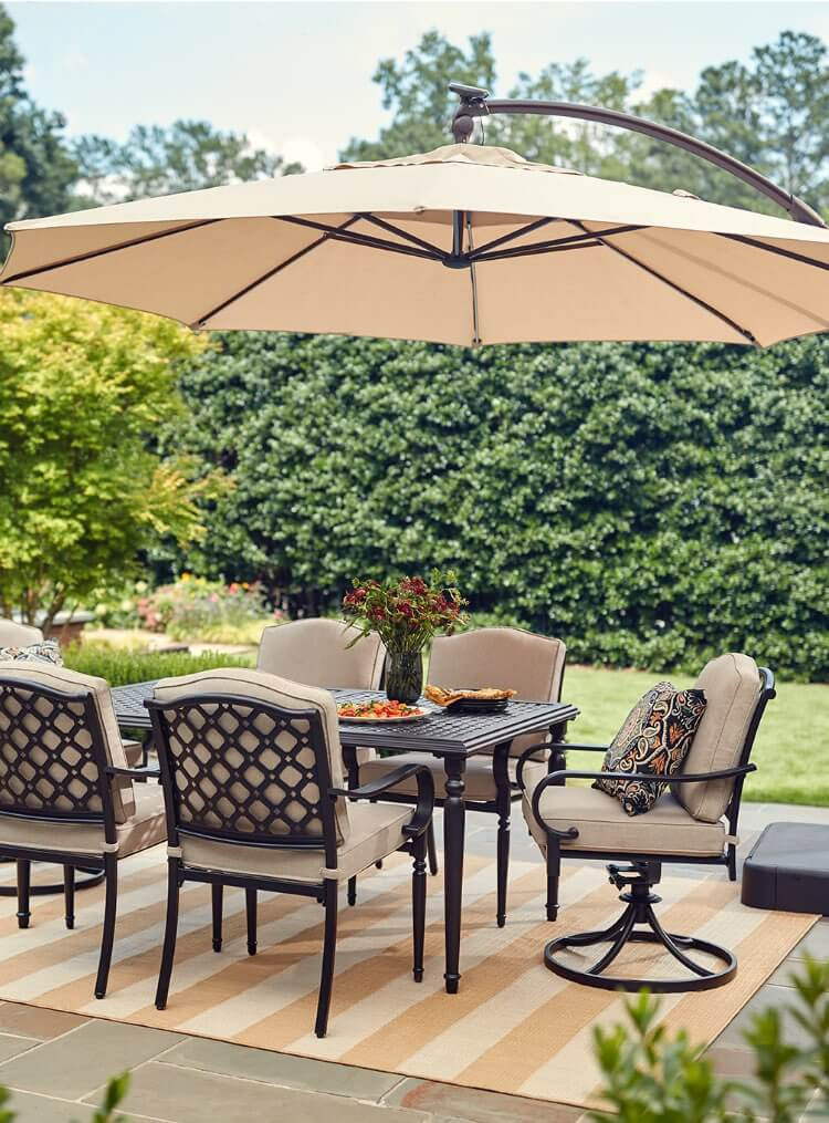Best ideas about Outdoor Patio Dining Sets . Save or Pin Patio Furniture The Home Depot Now.