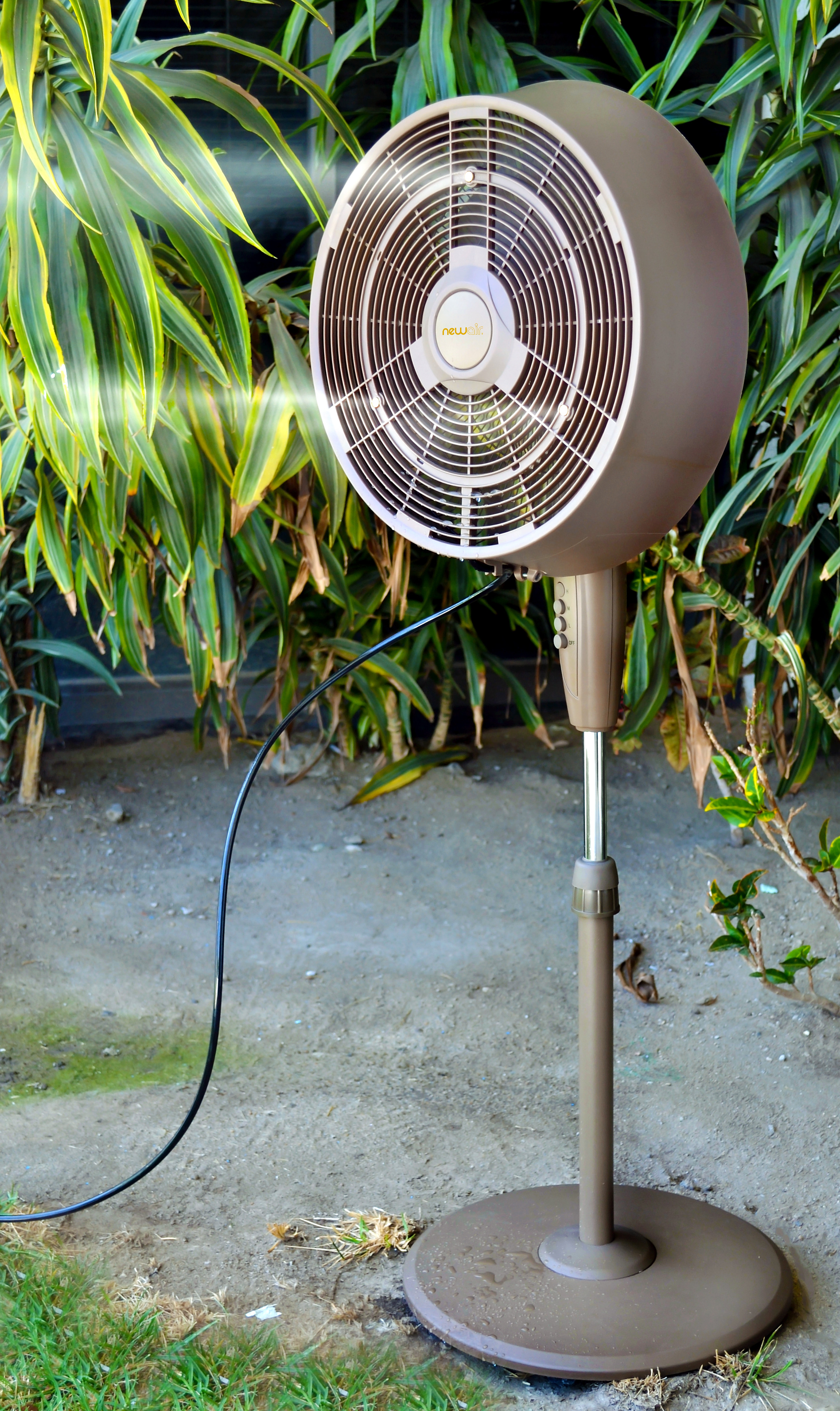 Best ideas about Outdoor Patio Fans . Save or Pin Newair AF 520 18 034 Outdoor 3 Speed Nozzle Portable Patio Now.