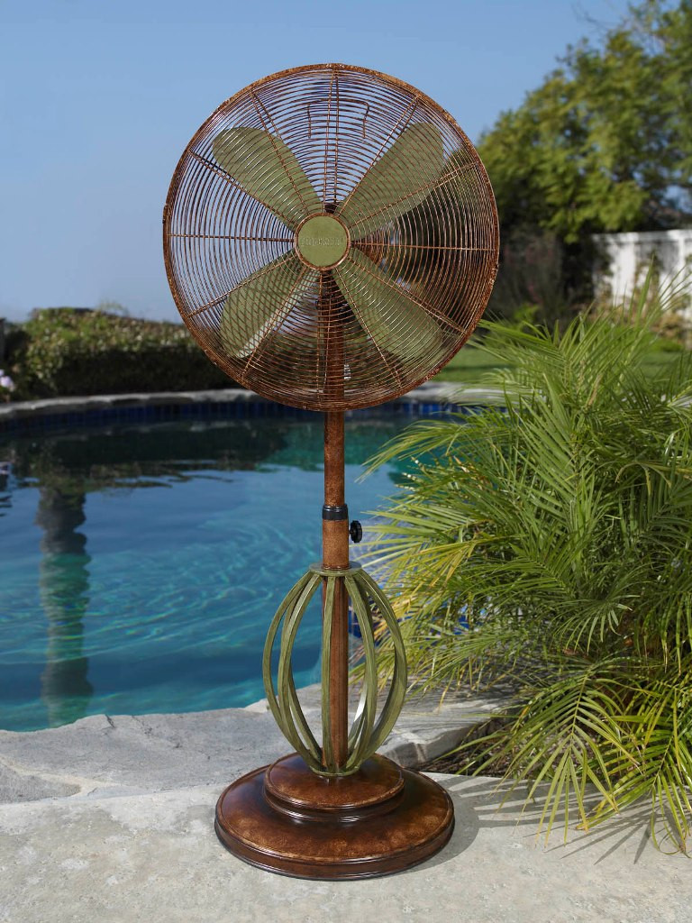 Best ideas about Outdoor Patio Fans . Save or Pin DBF0622 Playa Outdoor Patio Fan Floor Standing Outdoor Now.