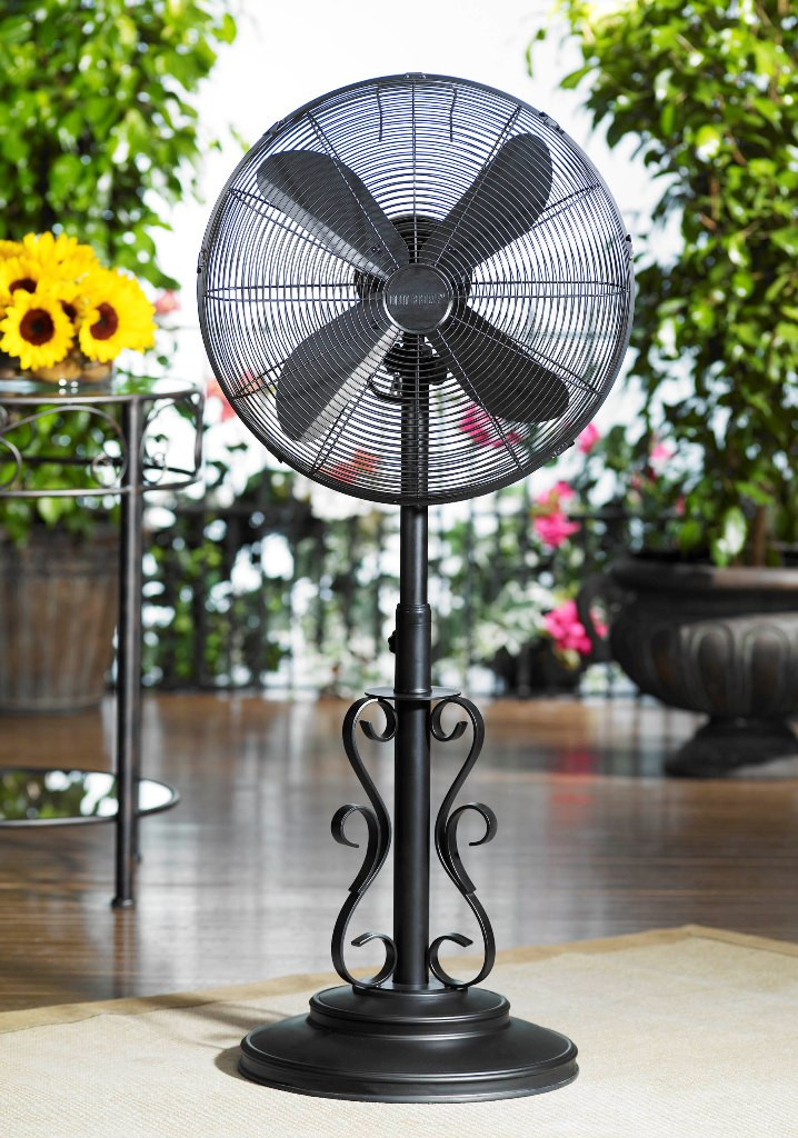 Best ideas about Outdoor Patio Fans . Save or Pin Standing outdoor fan outdoor patio fans oscillating Now.