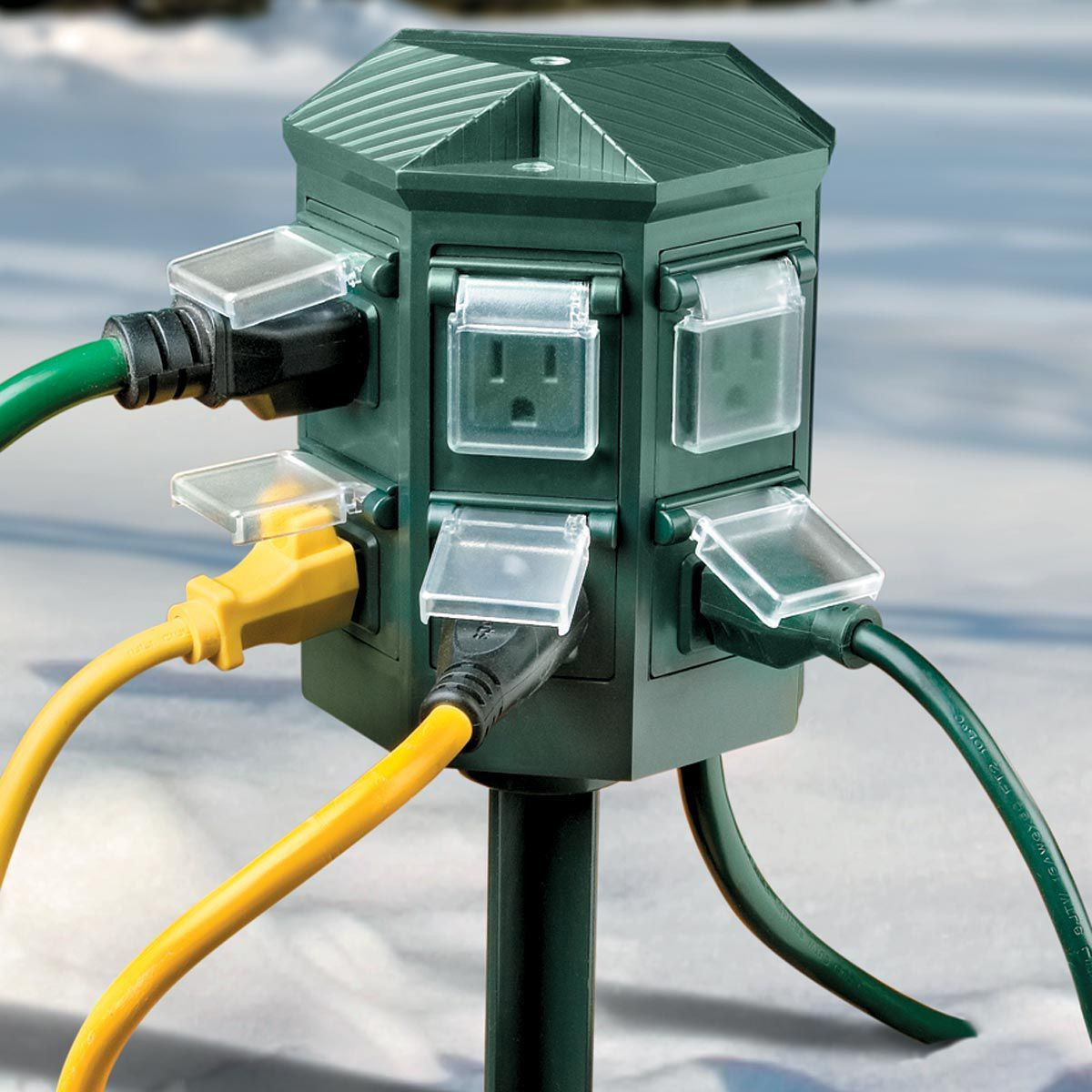 Best ideas about Outdoor Power Strips . Save or Pin Weatherproof Outdoor Timer Power Strip Now.
