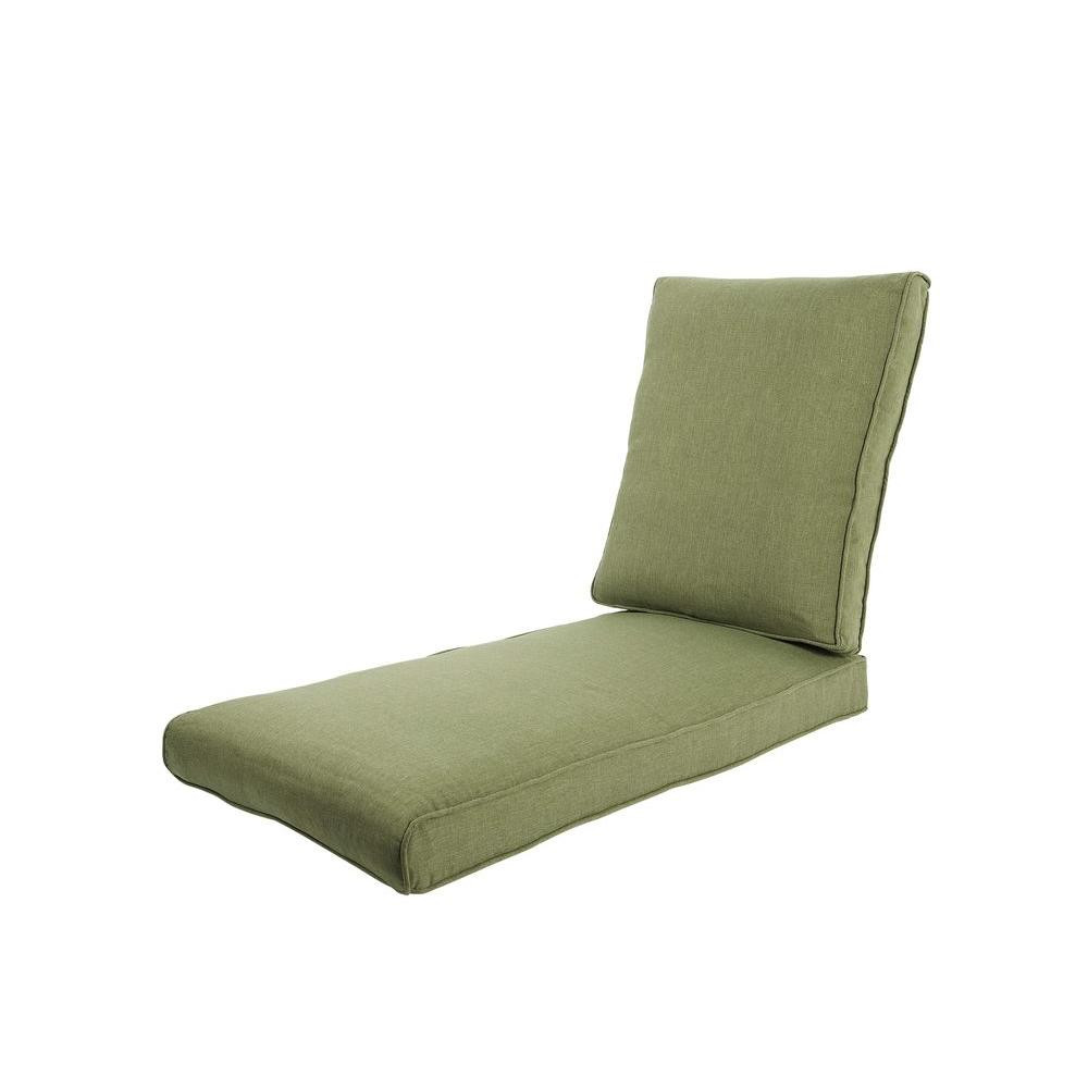 Best ideas about Outdoor Replacement Cushions . Save or Pin Hampton Bay Pembrey Replacement Outdoor Chaise Lounge Now.