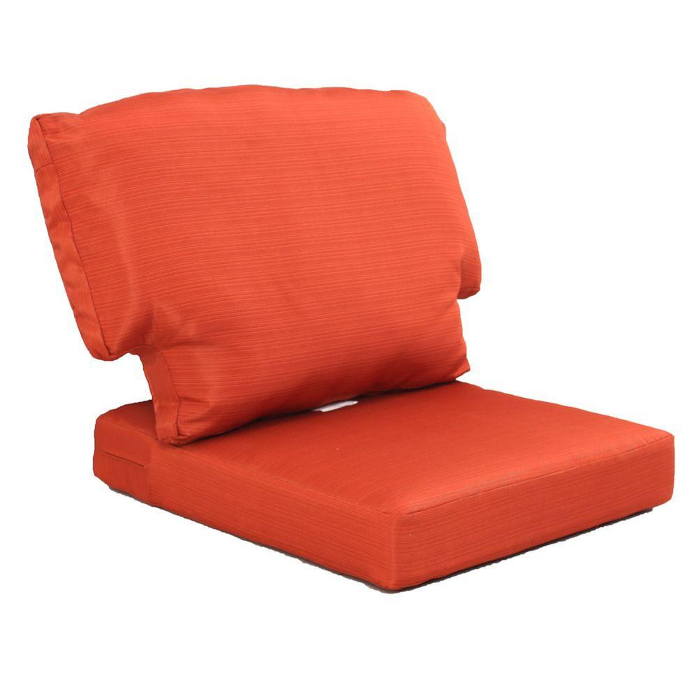 Best ideas about Outdoor Replacement Cushions . Save or Pin Martha Stewart Living Charlottetown Quarry Red Replacement Now.