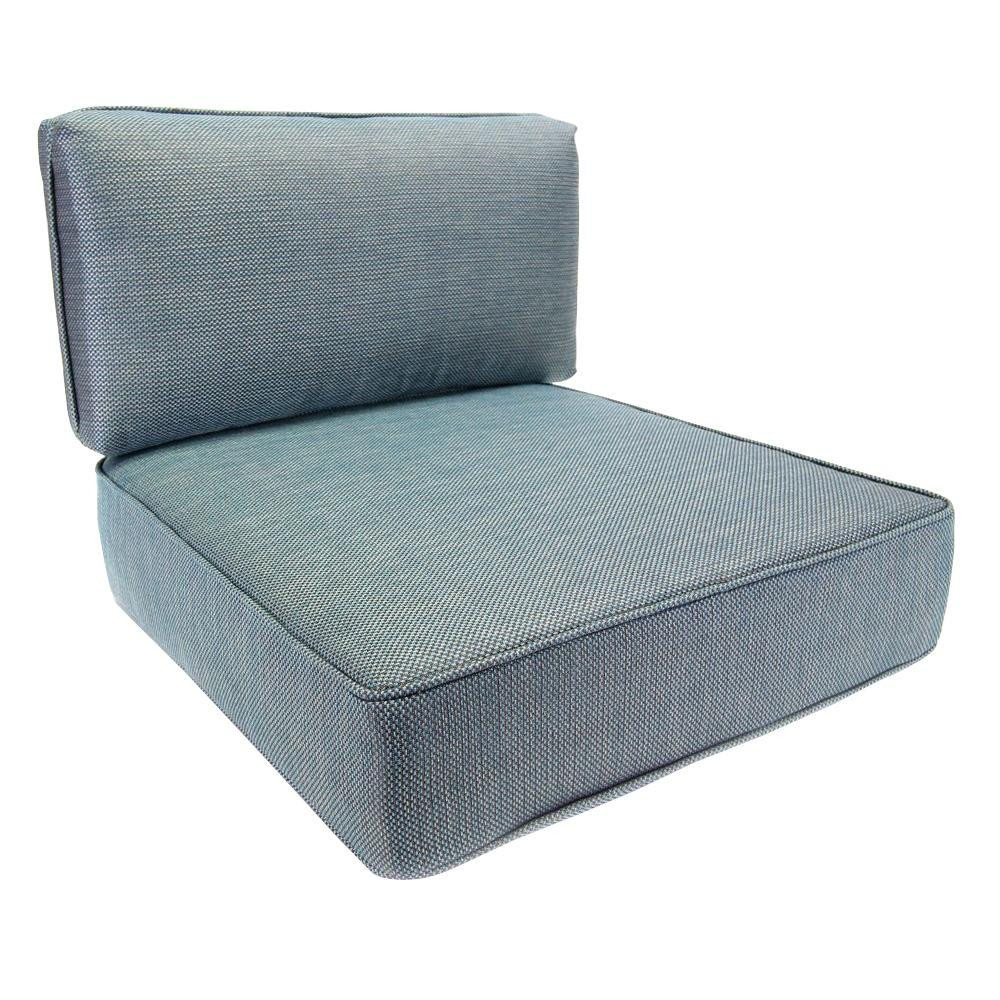 Best ideas about Outdoor Replacement Cushions . Save or Pin Hampton Bay Fenton Replacement Outdoor Lounge Chair Now.