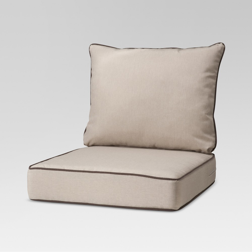 Best ideas about Outdoor Replacement Cushions . Save or Pin OUTDOOR CUSHION SET ROLSTON 2 PIECE OUTDOOR SEAT & BACK Now.