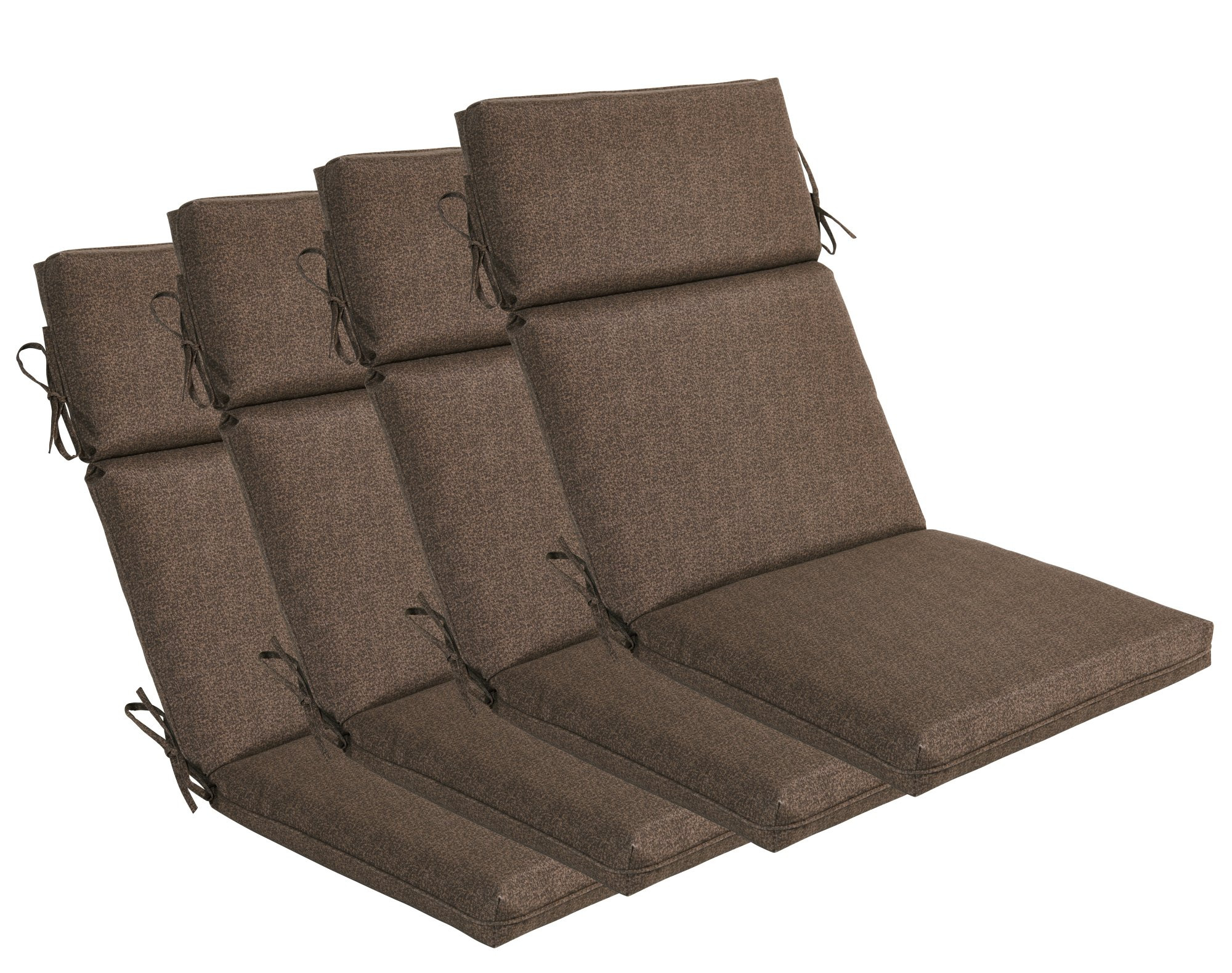 Best ideas about Outdoor Replacement Cushions . Save or Pin Amazon Bossima Indoor Outdoor Coffee Seat Pad Set of Now.