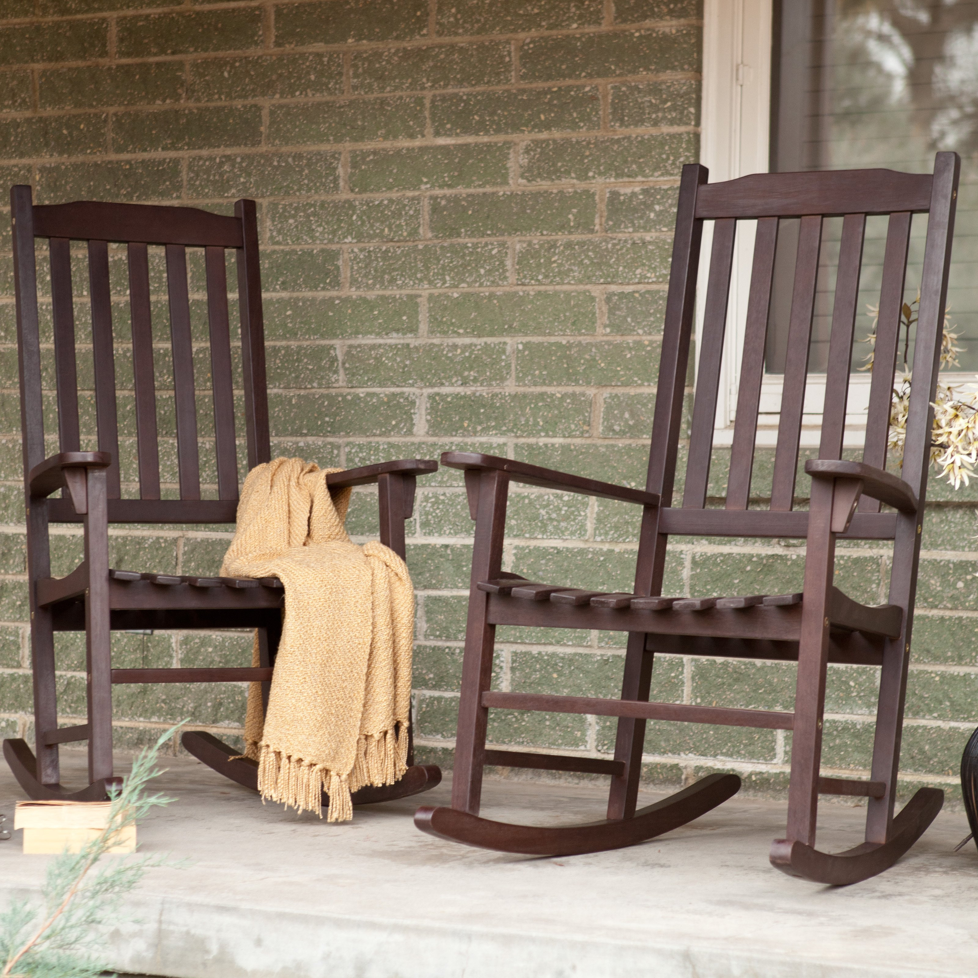 Best ideas about Outdoor Rocking Chairs . Save or Pin Coral Coast Indoor Outdoor Mission Slat Rocking Chairs Now.