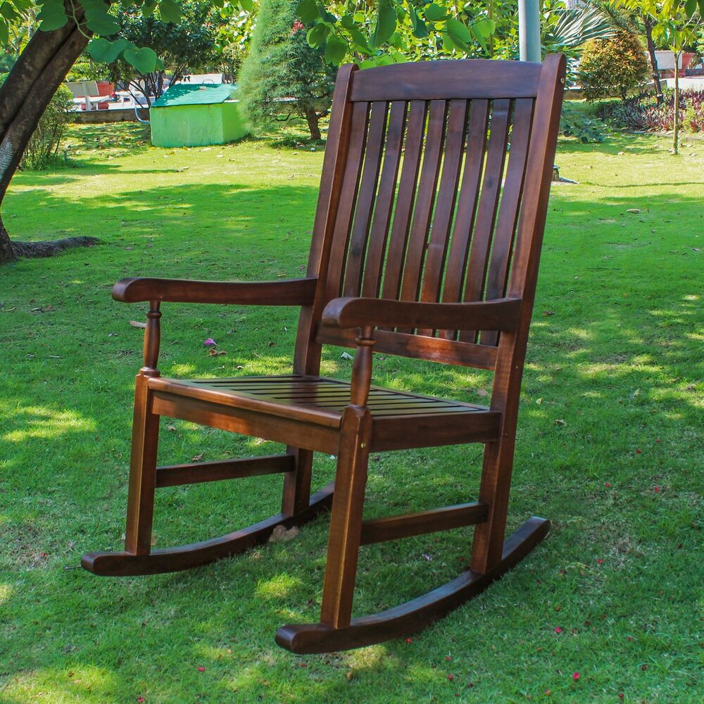 Best ideas about Outdoor Rocking Chairs . Save or Pin Traditional Porch Rocking Chair Patio Furniture Garden Now.