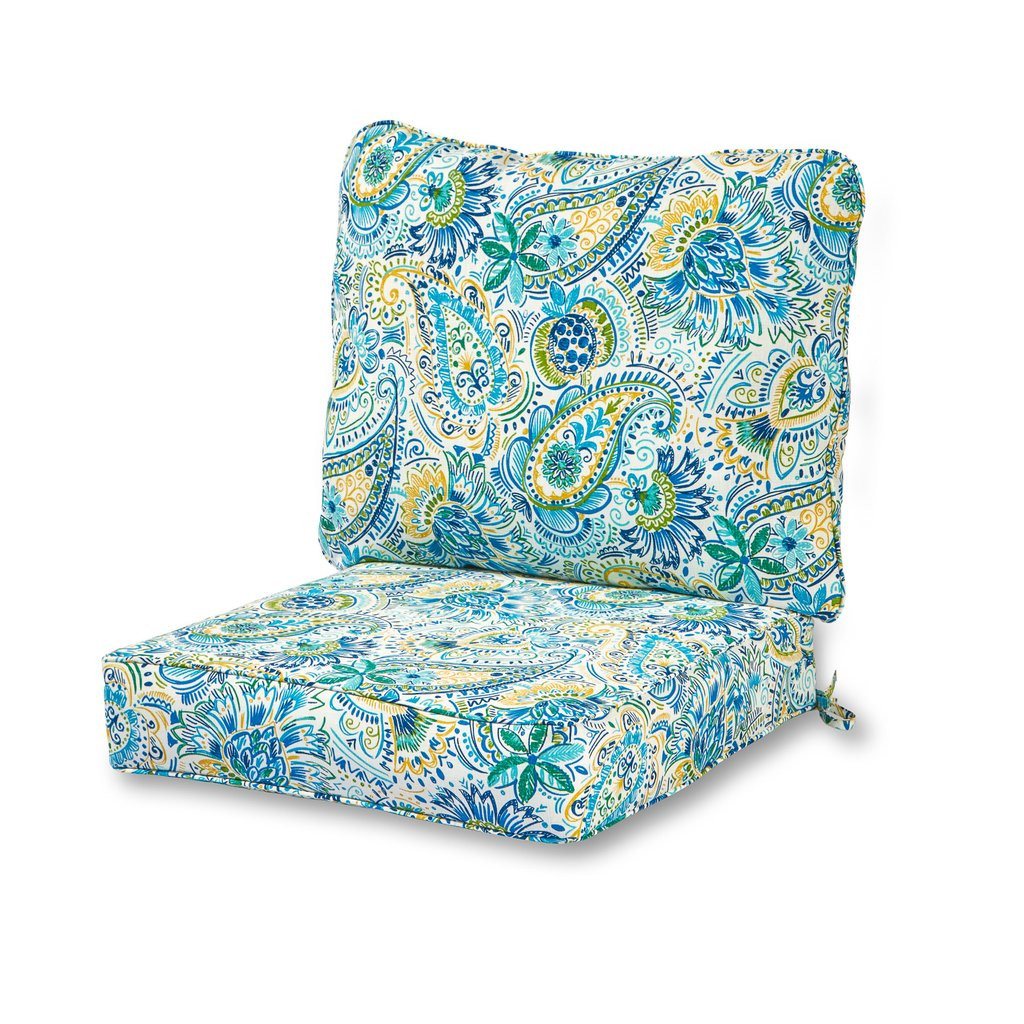 Best ideas about Outdoor Seat Cushions . Save or Pin Coastal Collection Outdoor Deep Seat Cushion Set Now.