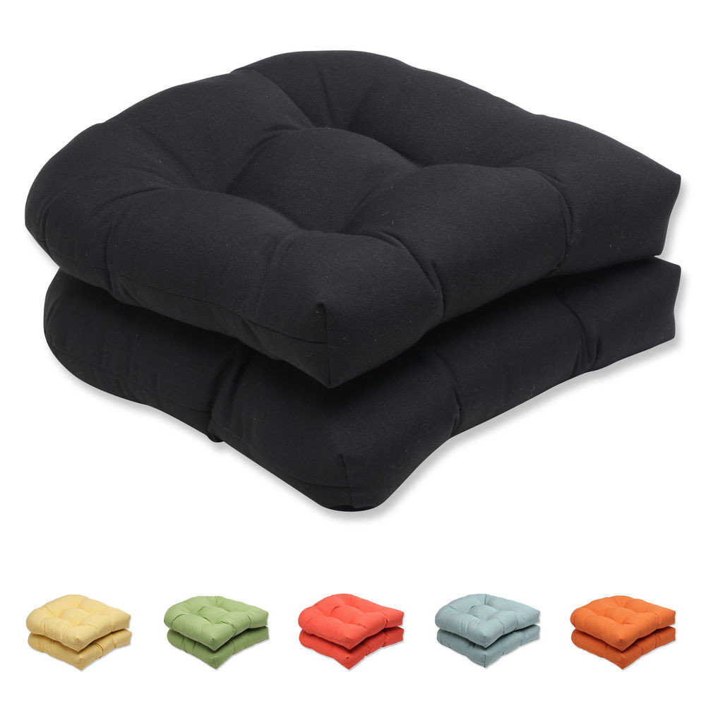 Best ideas about Outdoor Seat Cushions . Save or Pin Pillow Perfect Outdoor Solid Wicker Seat Cushion with Now.