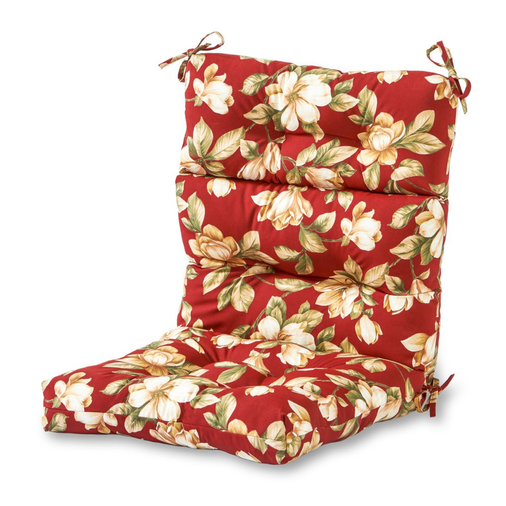 Best ideas about Outdoor Seat Cushions . Save or Pin Greendale Home Fashions 44 x 22 in Outdoor High Back Now.