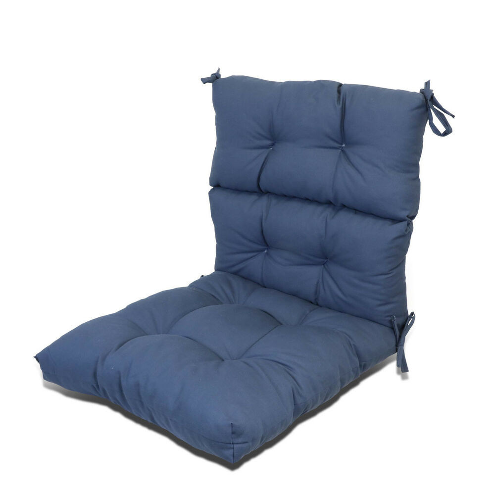 Best ideas about Outdoor Seat Cushions . Save or Pin Outdoor Patio Garden Dining Back Chair Seat Cushion 3 Now.