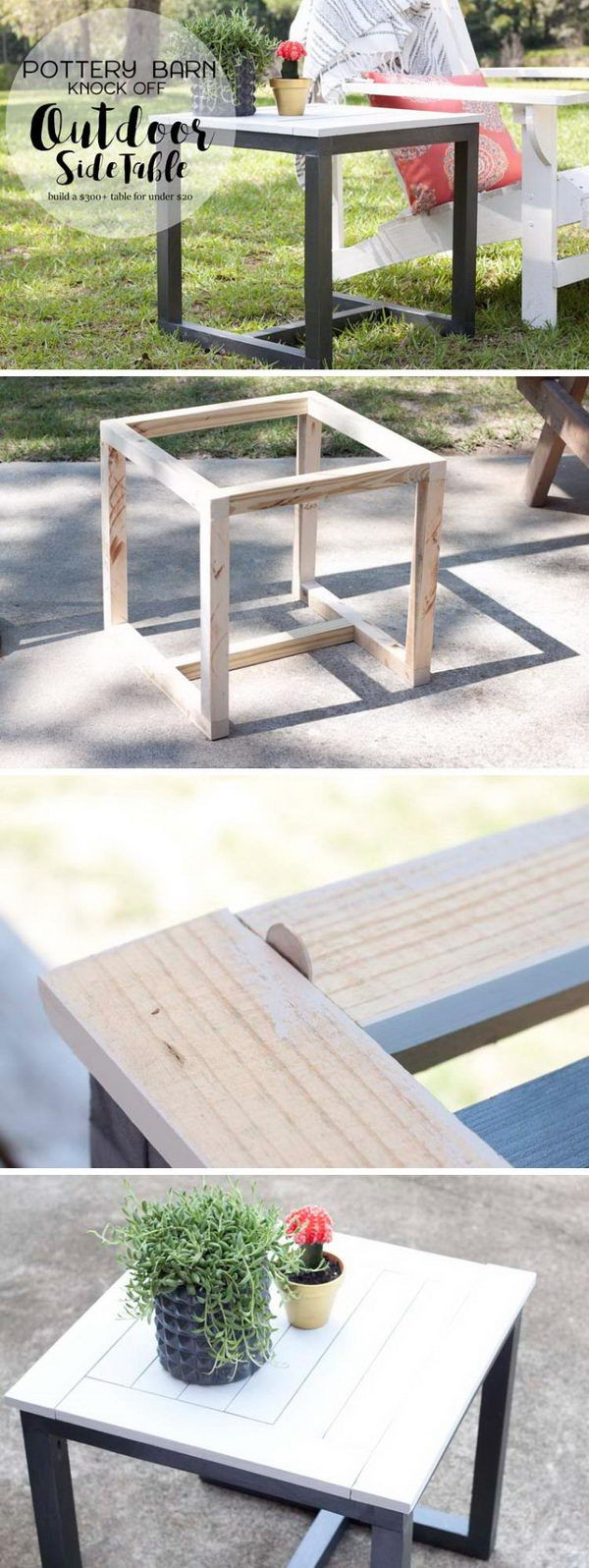 Best ideas about Outdoor Side Table Ideas . Save or Pin 25 unique Outdoor side table ideas on Pinterest Now.