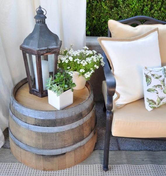Best ideas about Outdoor Side Table Ideas . Save or Pin Deck Decorating Ideas that Won t Cost a Fortune by DeckMAX Now.