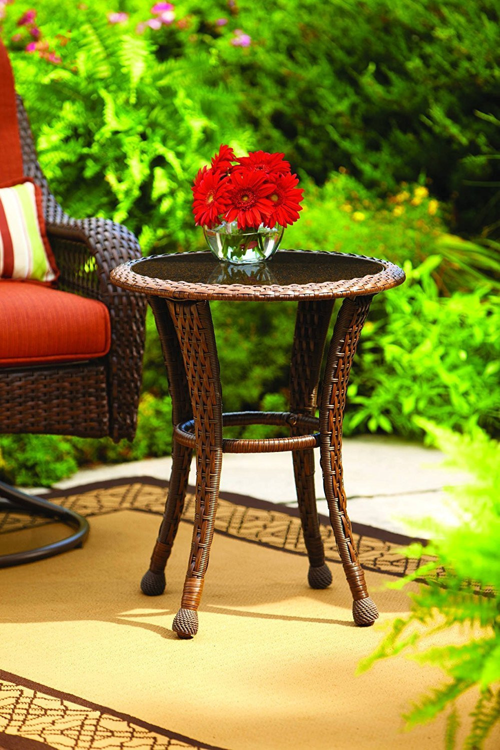 Best ideas about Outdoor Side Table Ideas . Save or Pin Outdoor Patio End Tables Decor IdeasDecor Ideas Now.