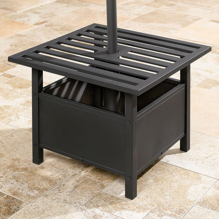 Best ideas about Outdoor Side Table Ideas . Save or Pin Best 25 Patio umbrella stand ideas on Pinterest Now.