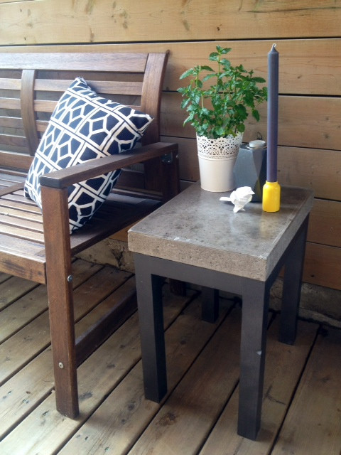 Best ideas about Outdoor Side Table Ideas . Save or Pin DIY Concrete Side Table Storefront Life Now.