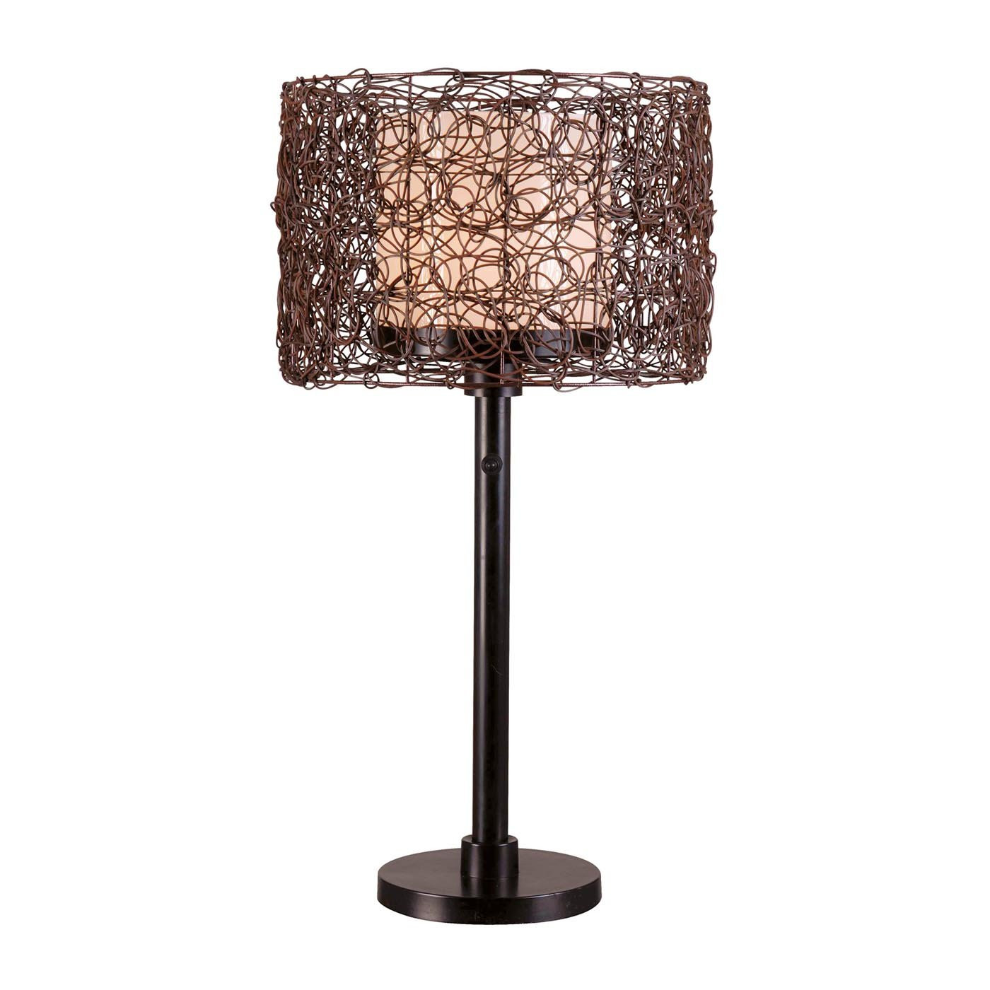 Best ideas about Outdoor Table Lamps . Save or Pin Kenroy Home BRZ Tanglewood Outdoor Table Lamp Now.