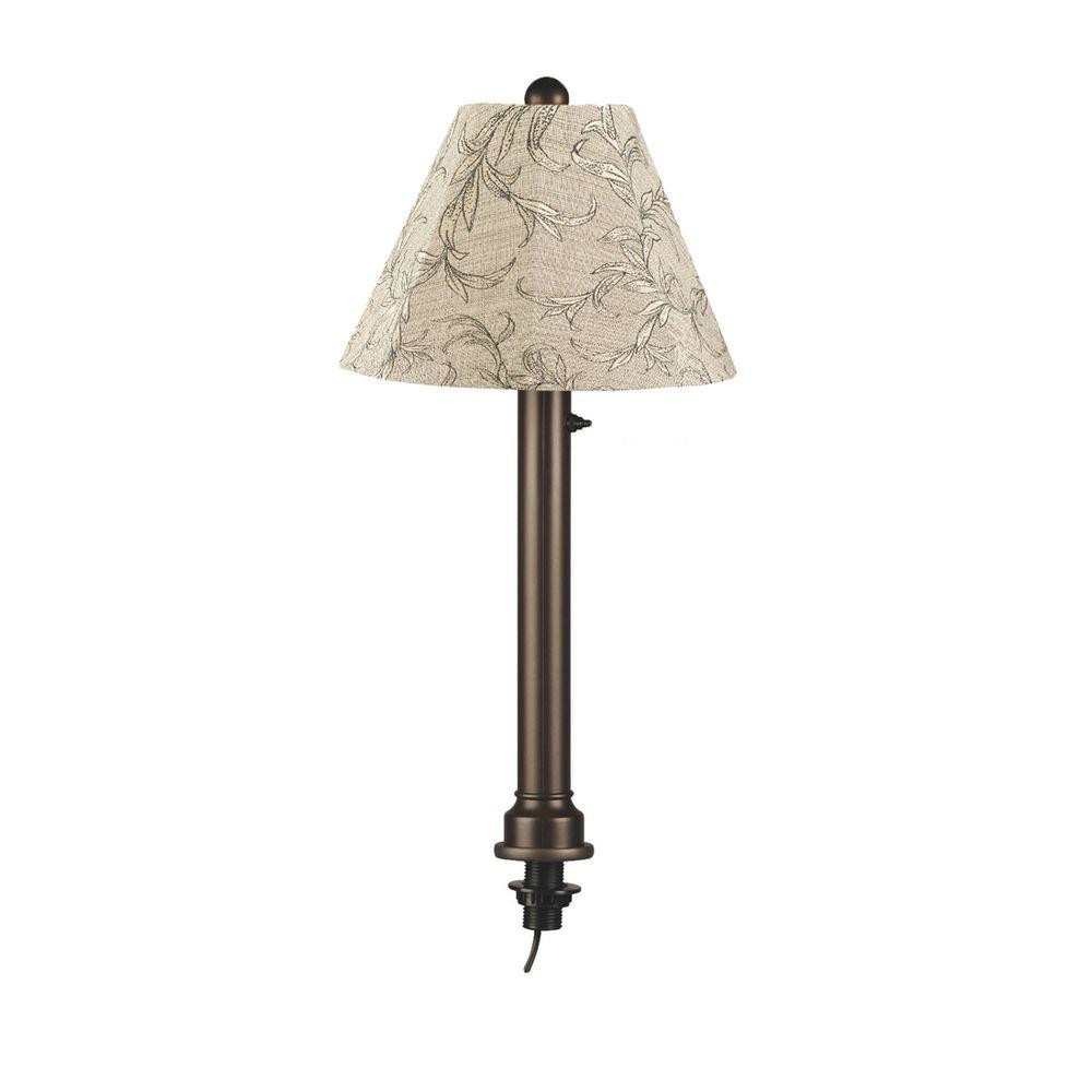 Best ideas about Outdoor Table Lamps . Save or Pin Patio Living Concepts Catalina 28 in Bronze Umbrella Now.