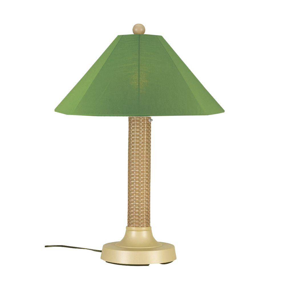 Best ideas about Outdoor Table Lamps . Save or Pin Patio Living Concepts Bahama Weave 34 in Mojavi Outdoor Now.