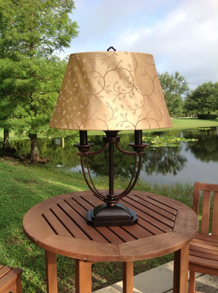 Best ideas about Outdoor Table Lamps . Save or Pin Kenroy Home Belmont Outdoor Table Lamp Outdoor Lamps For Now.