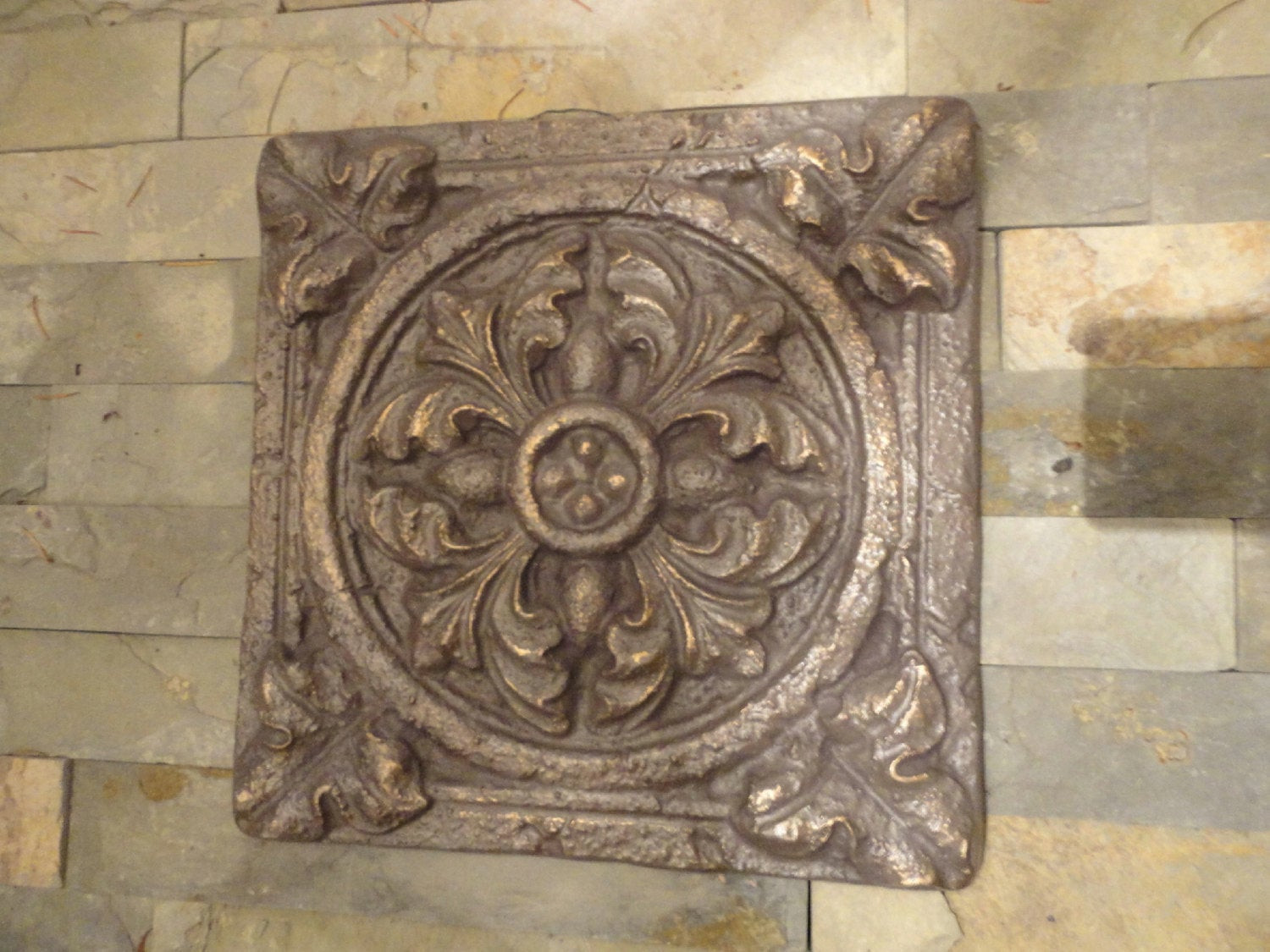 Best ideas about Outdoor Wall Art . Save or Pin Tuscan Garden Wall Decor Indoor Outdoor Oil Rubbed Bronze Now.