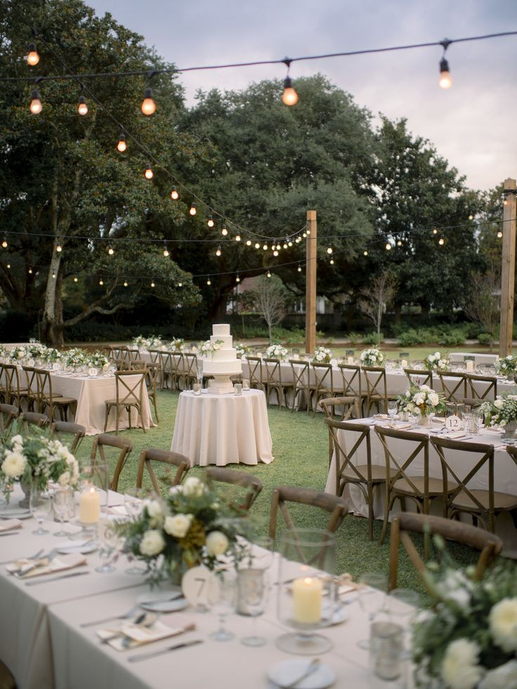 Best ideas about Outdoor Wedding Decorations . Save or Pin Best 25 Outdoor wedding tables ideas on Pinterest Now.