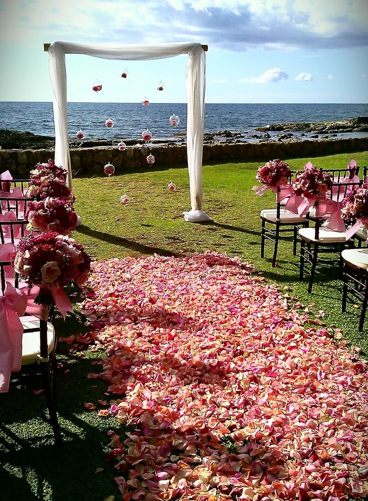 Best ideas about Outdoor Wedding Decorations . Save or Pin Outdoor Wedding Aisle Decor Ideas Now.