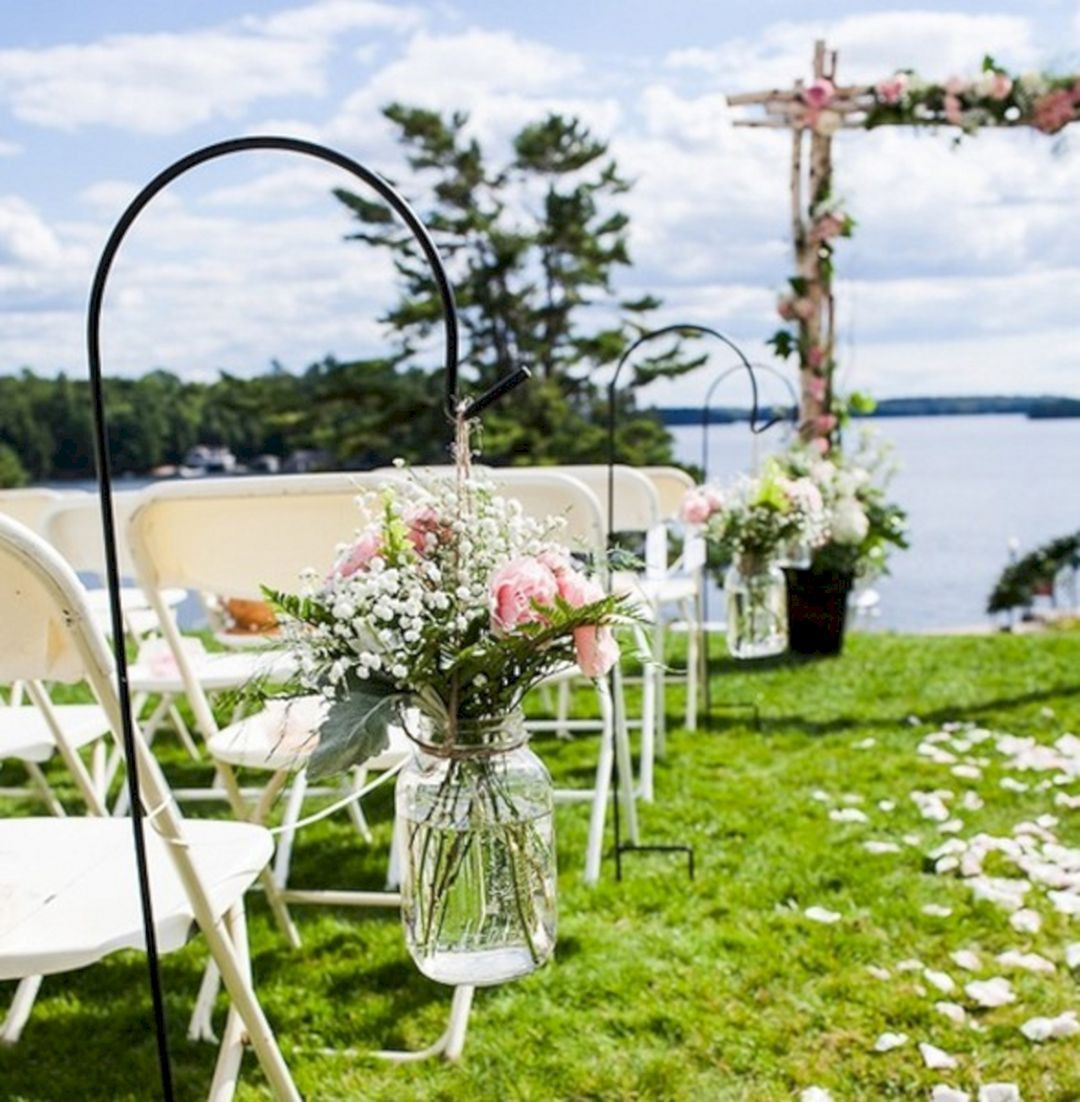 Best ideas about Outdoor Wedding Decorations . Save or Pin Summer Outdoor Wedding Decorations Ideas 12 – OOSILE Now.