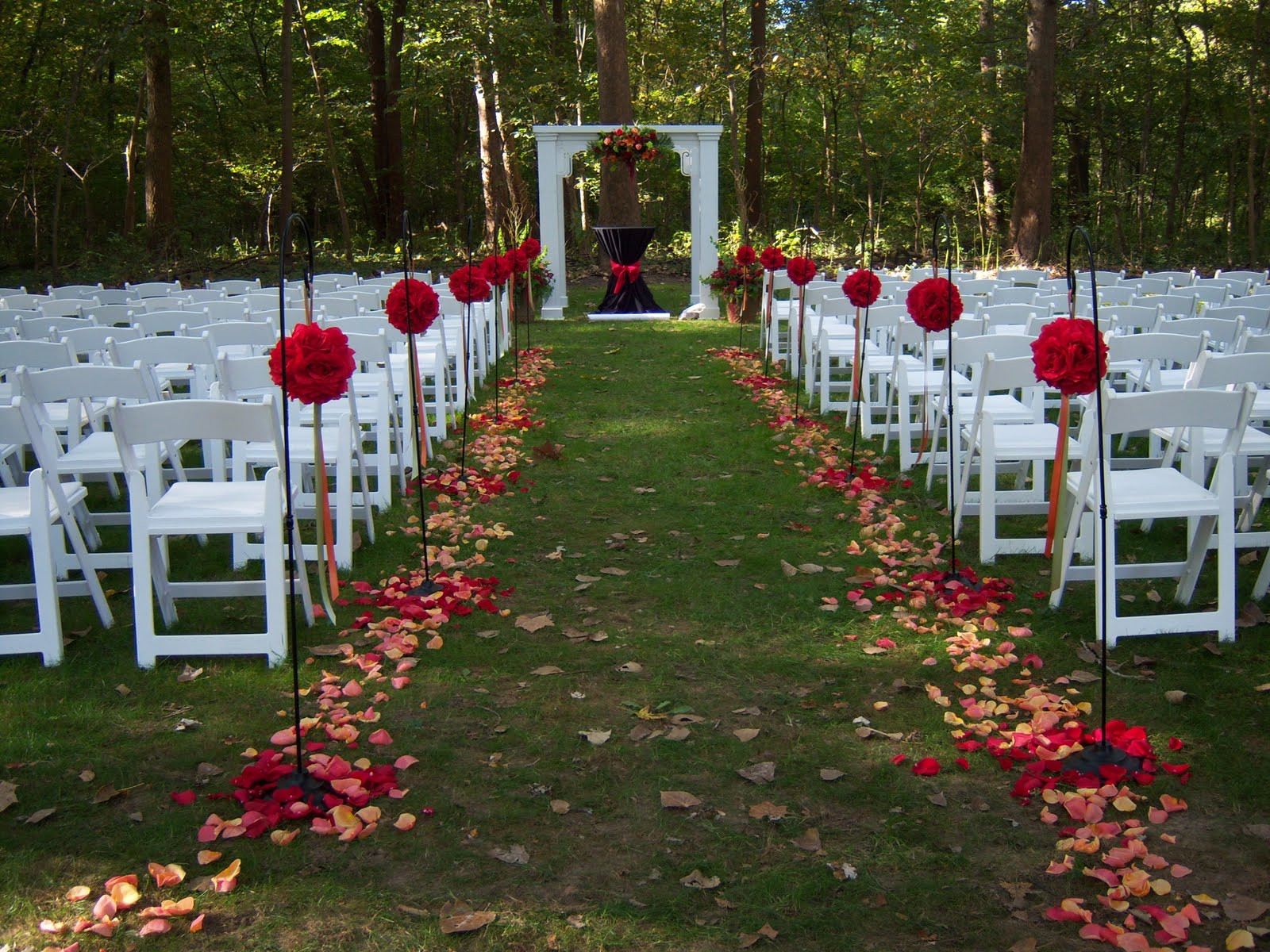 Best ideas about Outdoor Wedding Decorations . Save or Pin wedding ideas Now.