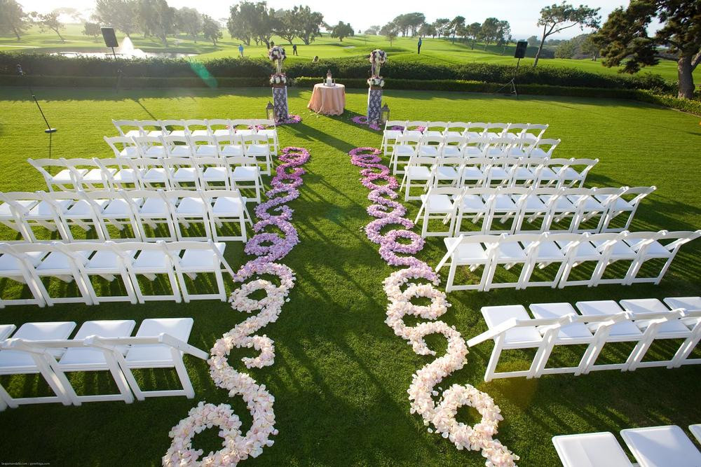 Best ideas about Outdoor Wedding Decorations . Save or Pin BN Wedding Décor Outdoor Wedding Ceremonies Now.