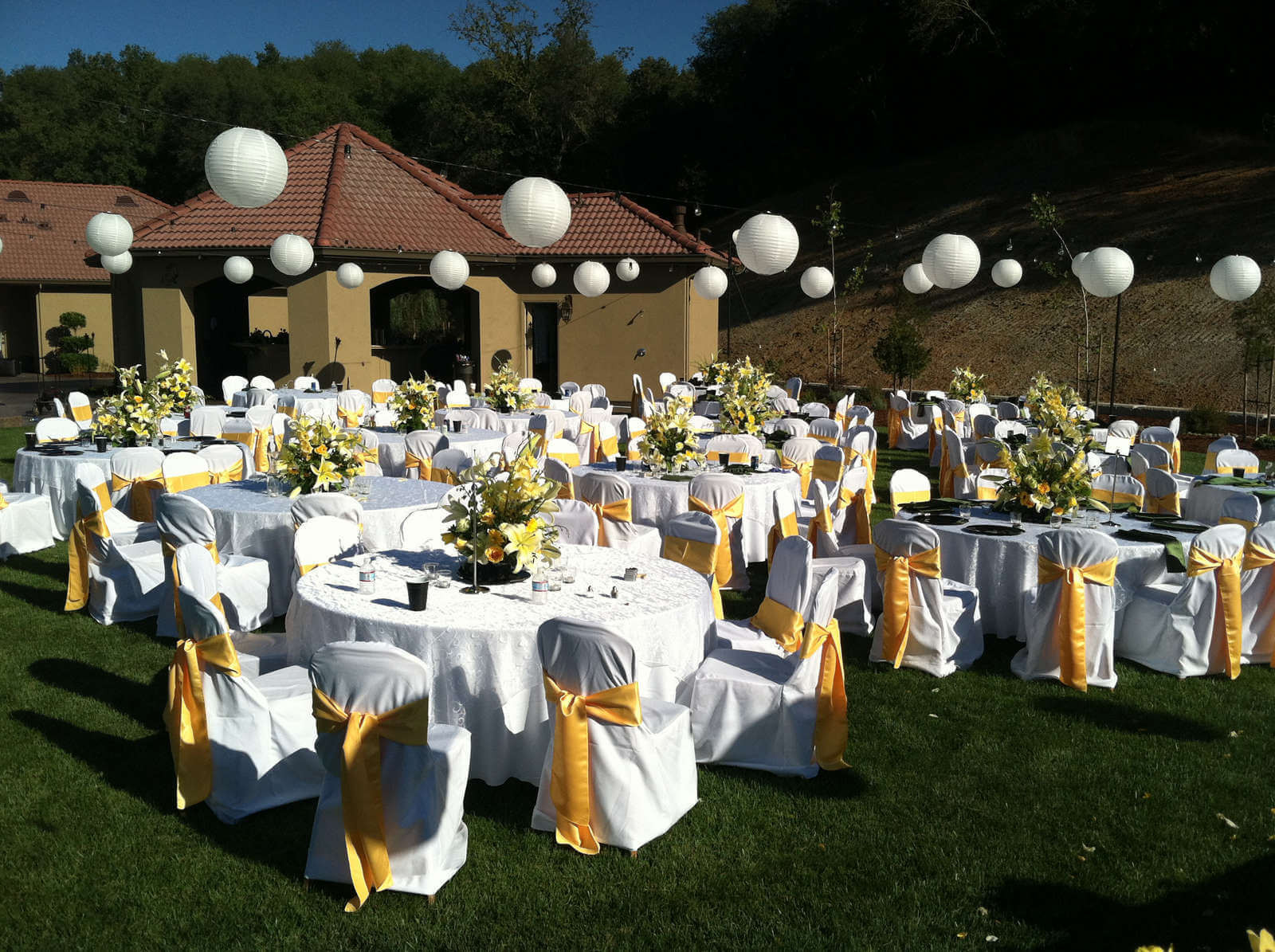 Best ideas about Outdoor Wedding Decorations . Save or Pin This Weeks √ 14 Elegant Outdoor Wedding Decorations Now.