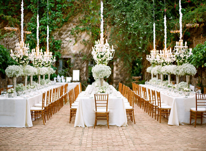 Best ideas about Outdoor Wedding Venues . Save or Pin Chandeliers and Outdoor Weddings Part 2 Belle The Magazine Now.
