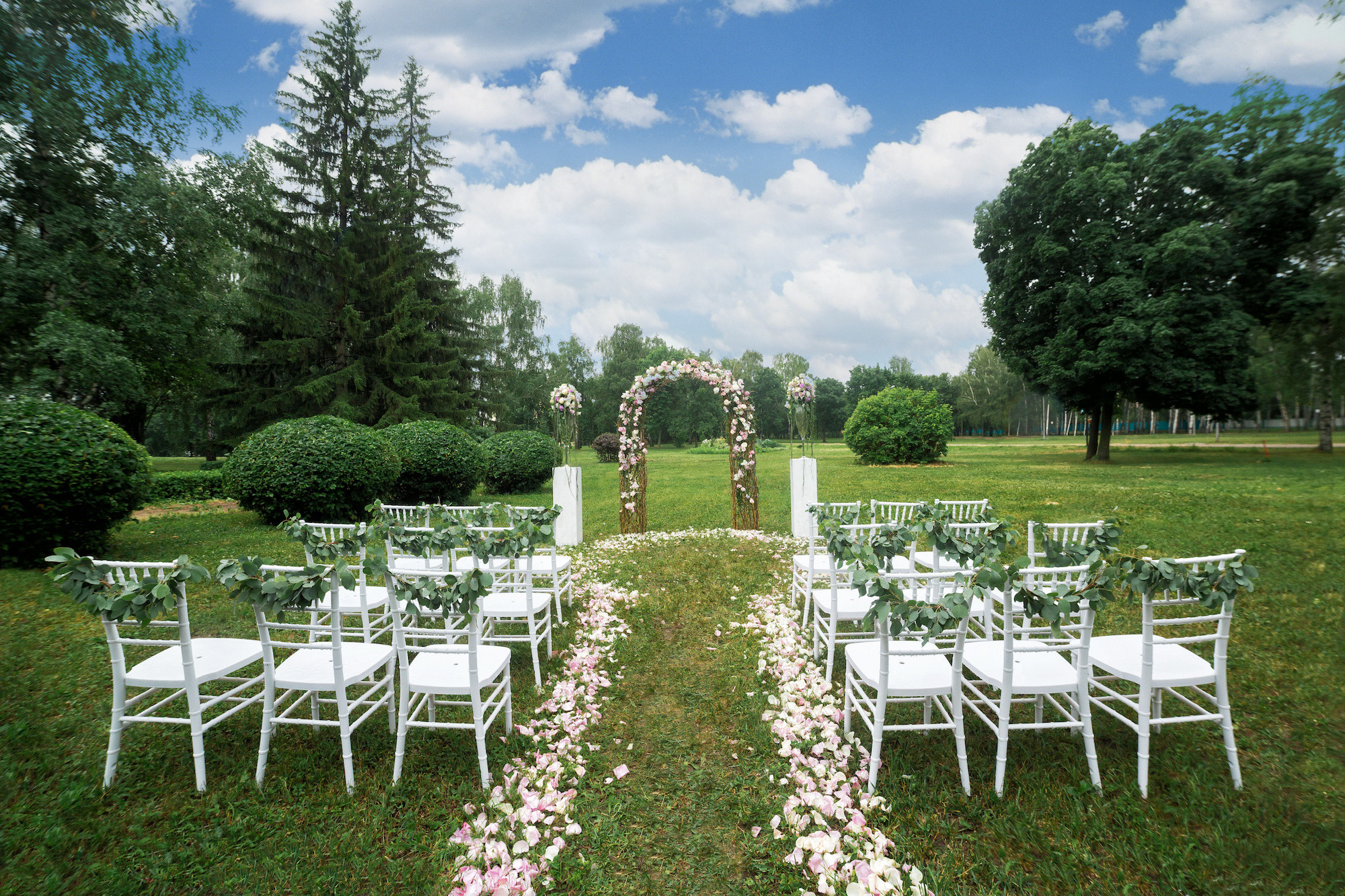 Best ideas about Outdoor Wedding Venues . Save or Pin What to Look For In Outdoor Wedding Venues Now.