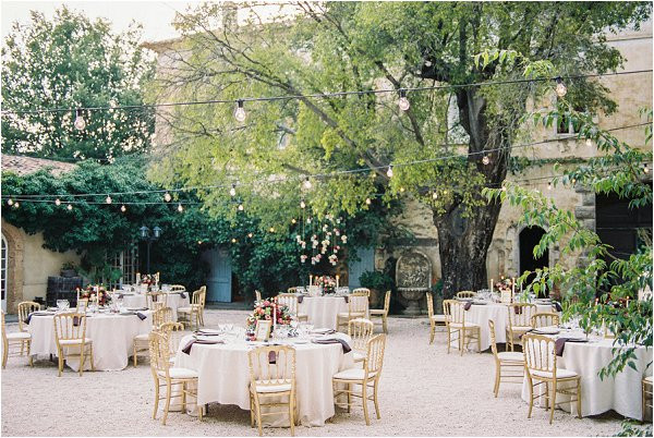 Best ideas about Outdoor Wedding Venues . Save or Pin Intimate wedding at Chateau de Robernier Provence Now.