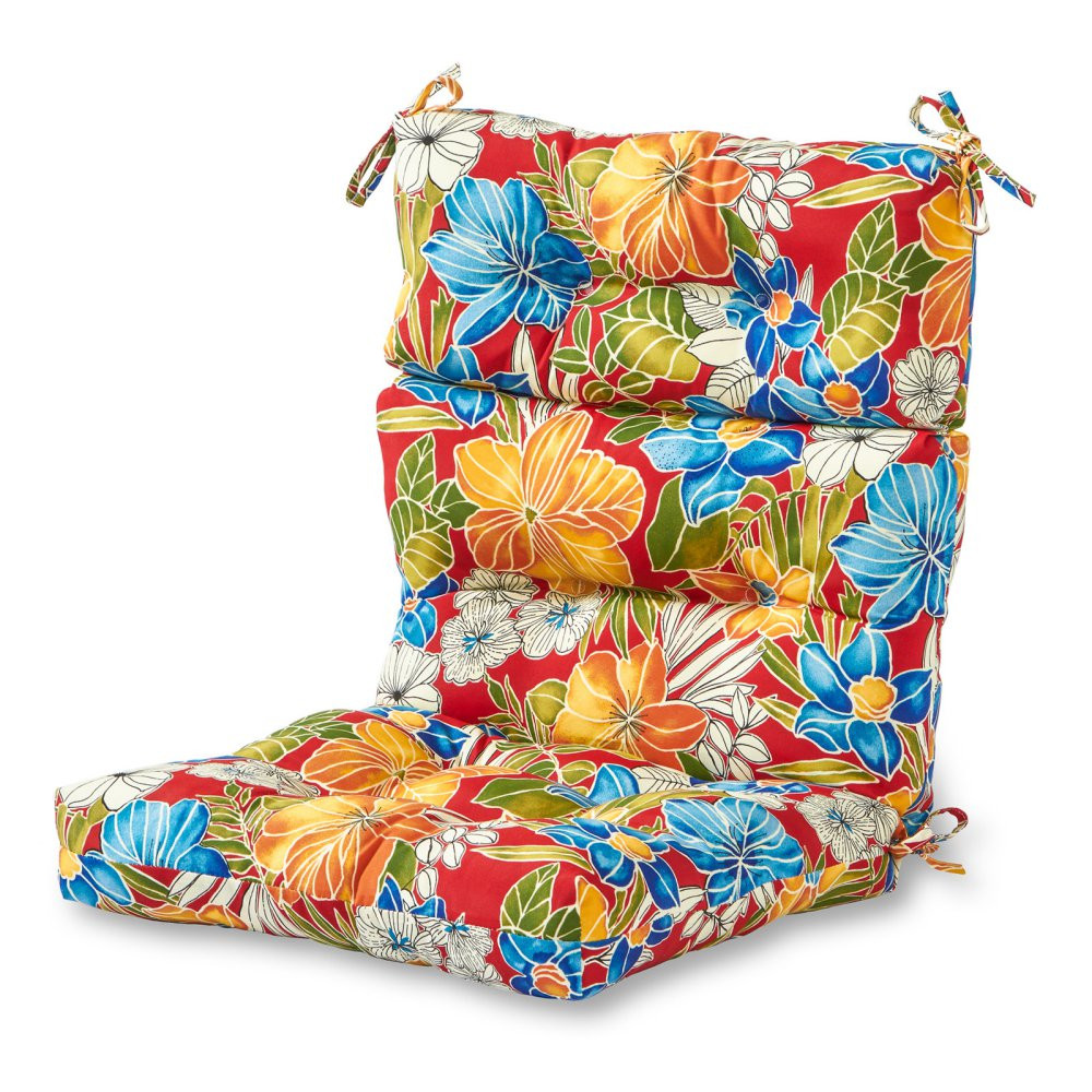 Best ideas about Outside Chair Cushions . Save or Pin Greendale Home Fashions 44 x 22 in Outdoor High Back Now.