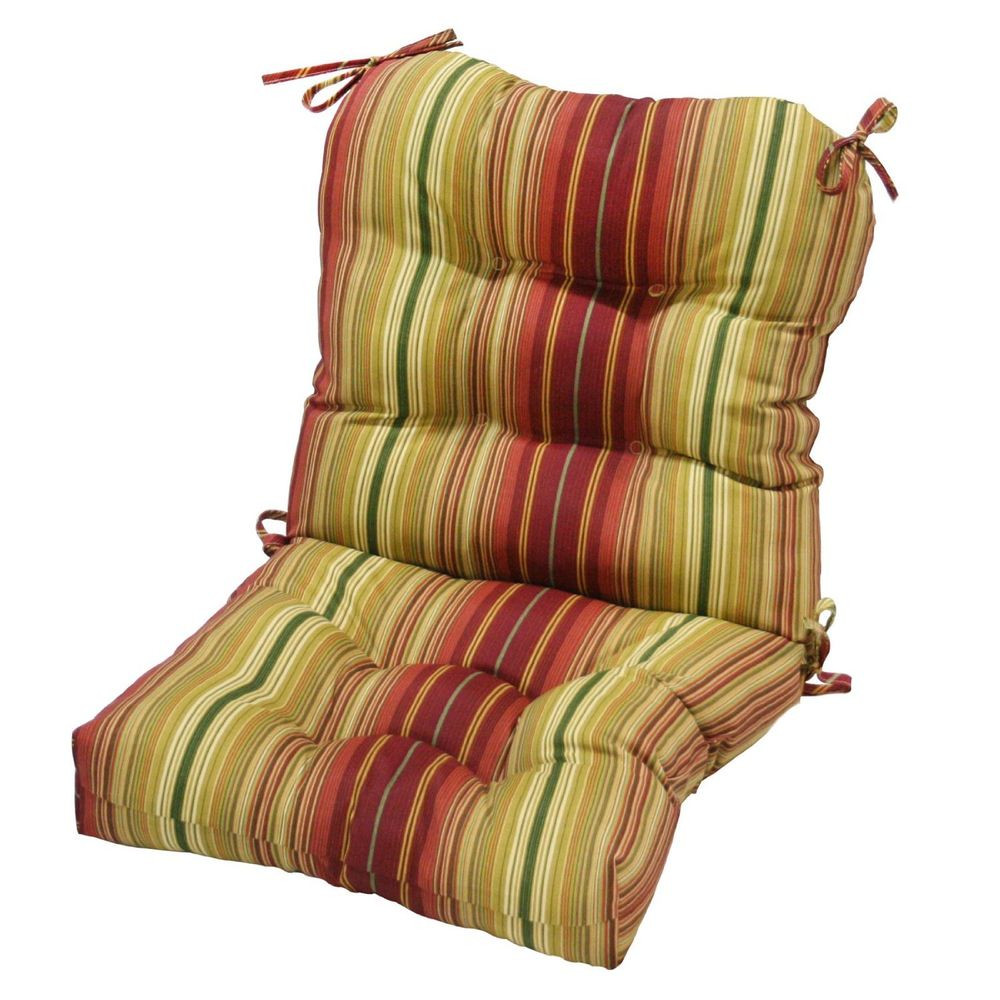 Best ideas about Outside Chair Cushions . Save or Pin Greendale Home Fashions Indoor Outdoor Seat Back Chair Now.