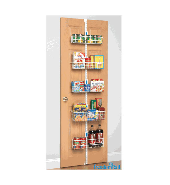 Best ideas about Over The Door Pantry Organizer . Save or Pin freedomRail Over The Door Pantry Rack in Over the Door Now.