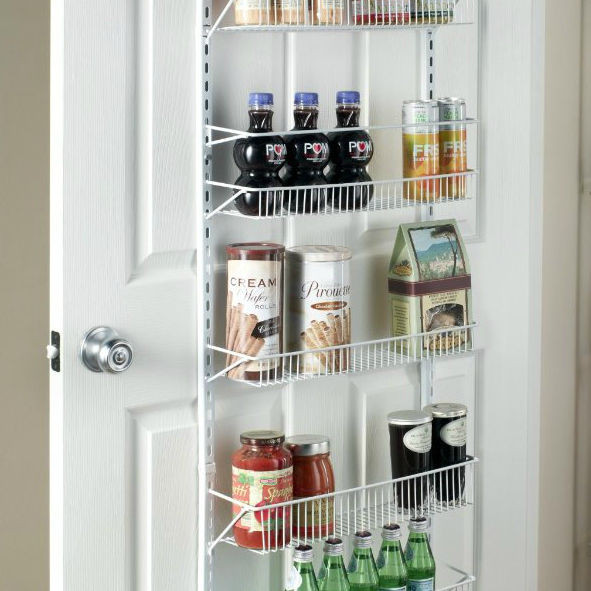 """Best ideas about Over The Door Pantry Organizer . Save or Pin Wide 18"""" Adjustable 8 Shelf Over the Door Pantry Closet Now."""