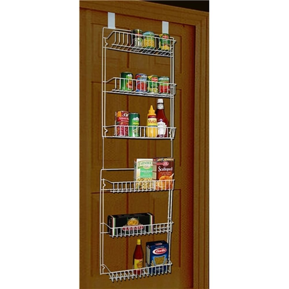 Best ideas about Over The Door Pantry Organizer . Save or Pin Over The Door Storage Rack Organizer Hanging Pantry Now.