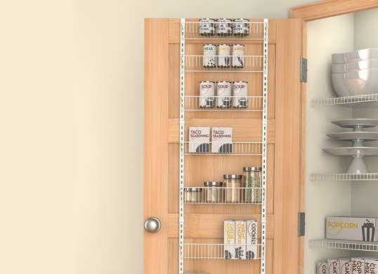 Best ideas about Over The Door Pantry Organizer . Save or Pin Over the Door Pantry Organizer Pantry Storage Ideas 14 Now.