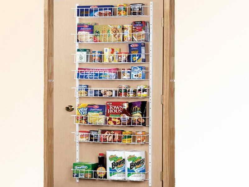 Best ideas about Over The Door Pantry Organizer . Save or Pin Kitchen Over The Door Pantry Organizer Over Door Storage Now.