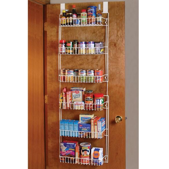 Best ideas about Over The Door Pantry Organizer . Save or Pin Over The Door Metal Storage Rack Over The Door Racks Now.