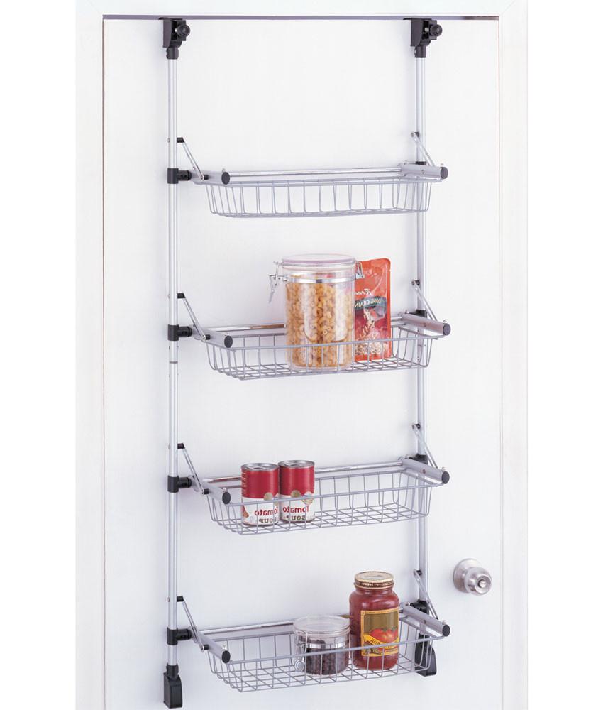 Best ideas about Over The Door Pantry Organizer . Save or Pin Over the Door Pantry Organizer in Wall and Door Storage Racks Now.