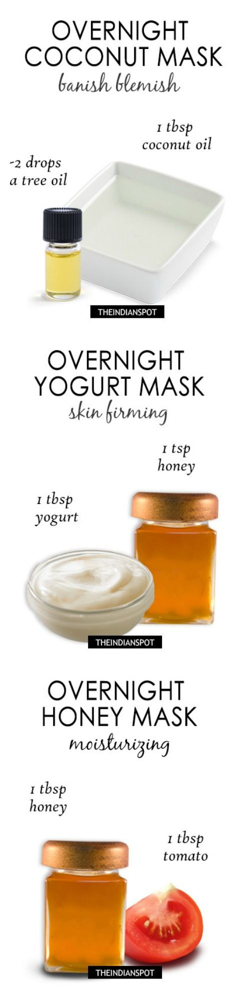 Best ideas about Overnight Face Mask DIY . Save or Pin TOP 6 OVERNIGHT FACE MASKS FOR CLEAR HEALTHY AND GLOWING Now.